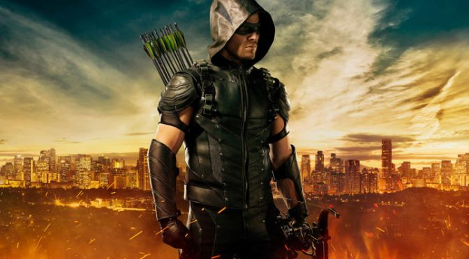 Arrow Season 4 Trailer, John Constantine, and Diggle's Stupid New Helmet