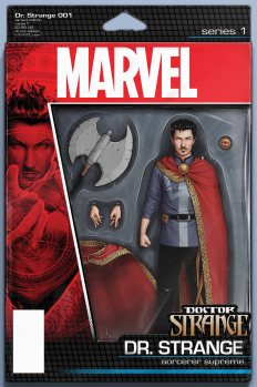 Doctor Strange #1 Action Figure Variant by JOHN TYLER CHRISTOPHER