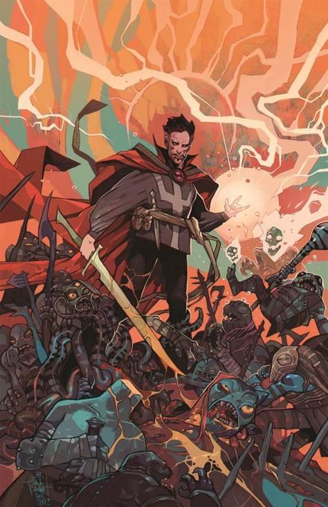 Doctor Strange #1  JAKUB REBELKA variant cover