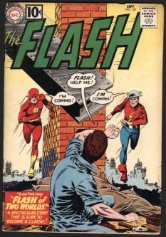 flash comic 1961
