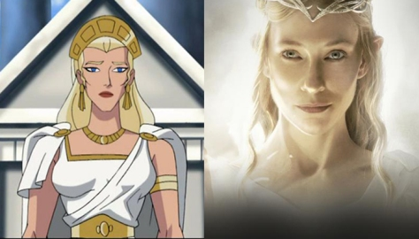 Hippolyta and Cate
