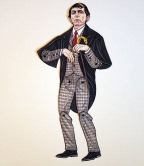 homemade horror halloween prelude ardently crafted paper doll 8