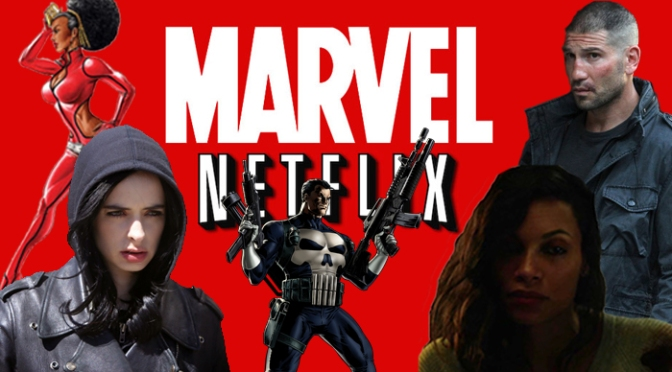 Marvel's NetFlix: Jessica Jones Teaser, The Punisher & Lots of Casting