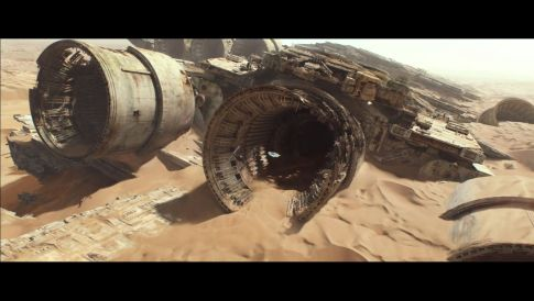 Star Wars Force Awakens Trailer ScreenShot - Super Star Destroyer
