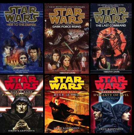 Star Wars Legacy Books