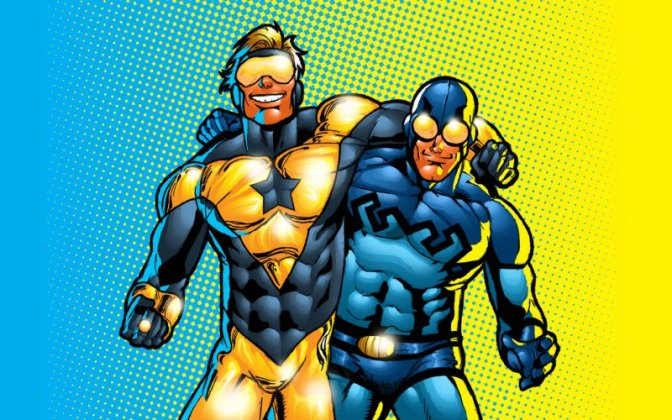 Booster Gold Is Coming. This Is Not a Drill.