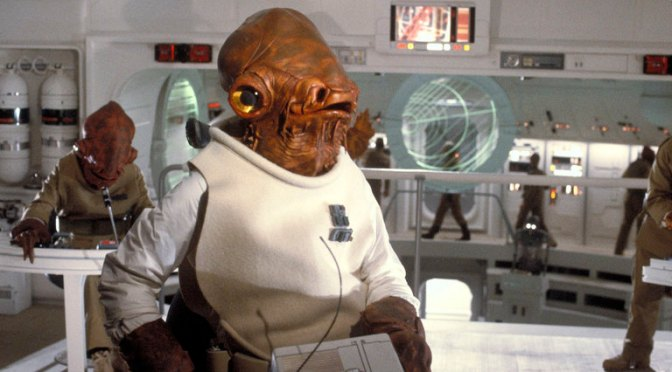 Admiral Ackbar Confirmed for 'Star Wars: The Force Awakens'