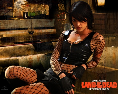 Asia Argento in Land of the Dead