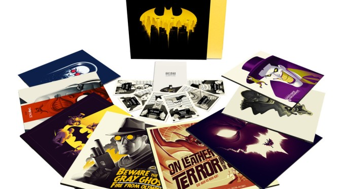 Batman The Animated Series Score Gets Incredible Mondo Vinyl Soundtrack Release
