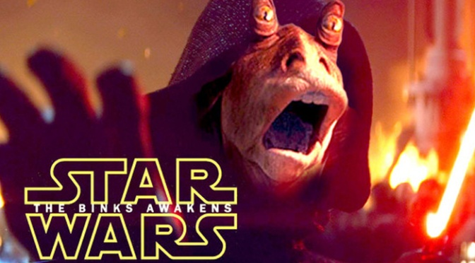 Fun with Star Wars The Force Awakens Trailer Edits