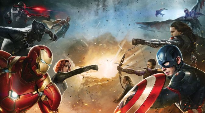 Promo Art for Captain America: Civil War