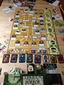 halloween table top games arkham horror 2