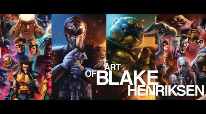 Blake Henriksen Amazes With Superb Comic Book Art Creations