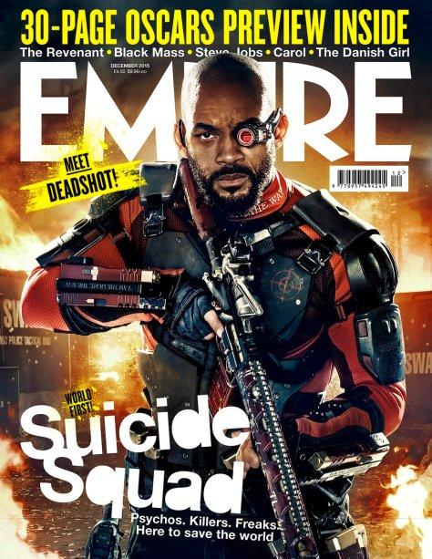 Suicide Squad - Empire Photos - Deadshot