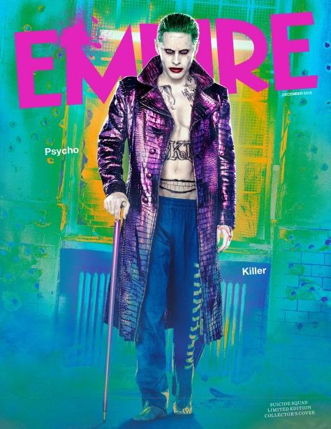 Suicide Squad - Empire Photos - Joker Collectors Cover