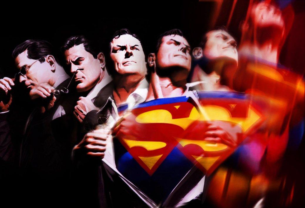 Superman Alex Ross lead in