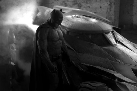 Batman DCEU - Batman and Batmobile