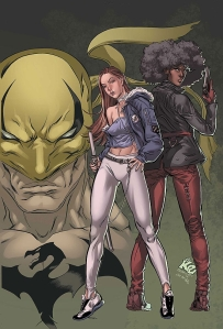 Iron Fist - Colleen Wing and Misty Knight