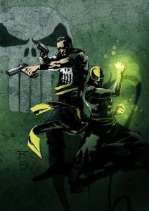 Iron Fist - Punisher and IF