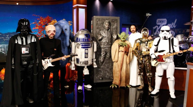 Star Wars Themed Special Episode of Jimmy Kimmel to Air Tonight