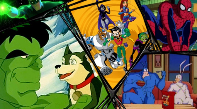 Super Saturdays: The 20 Best Superhero Cartoons, Part I