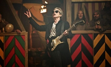 Was_that_really_Peter_Capaldi_playing_the_guitar_in_Doctor_Who_