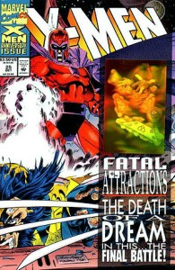 X-Men Fatal Attraction cover