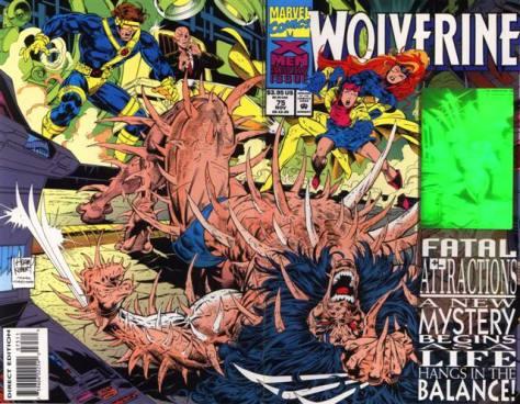 X-Men Fatal Attraction Wolverine
