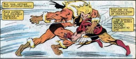 X-Men Mutant Massacre - wolverine vs sabretooth