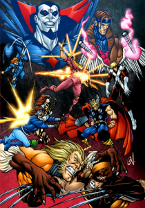 X-Men Mutant Massacre