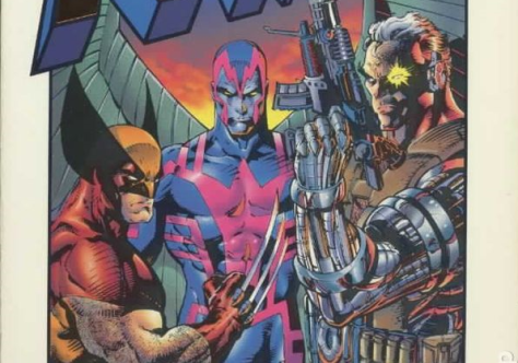 X-Men X-tinction Agenda - Wolvy, Archangel, Cable
