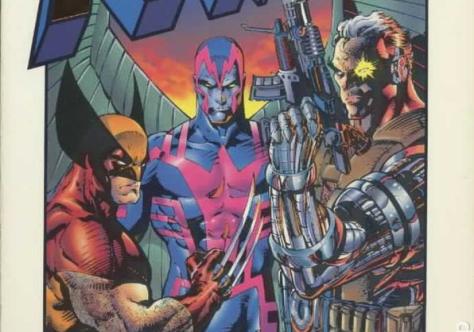 X-Men X-tinction Agenda - Wolvy, Archangel, Cable