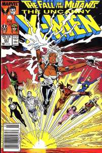 XMen Fall of the Mutants