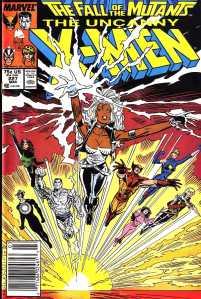 XMen Fall of the Mutants