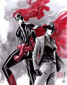Batwoman and Question