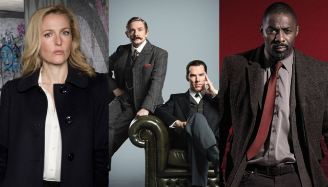 BBC Releases New Crime Drama Promo Featuring Luther, Sherlock and The Fall; PLUS New Sherlock Trailer