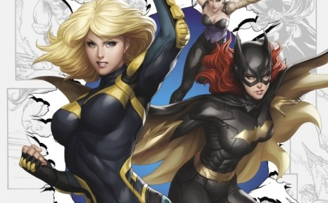 Best Buds - Batgirl and Black Canary