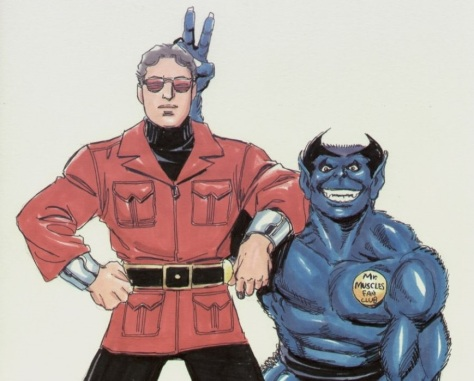 Best Buds - Beast and Wonder Man