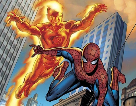 Best Buds - Spidey and Torch