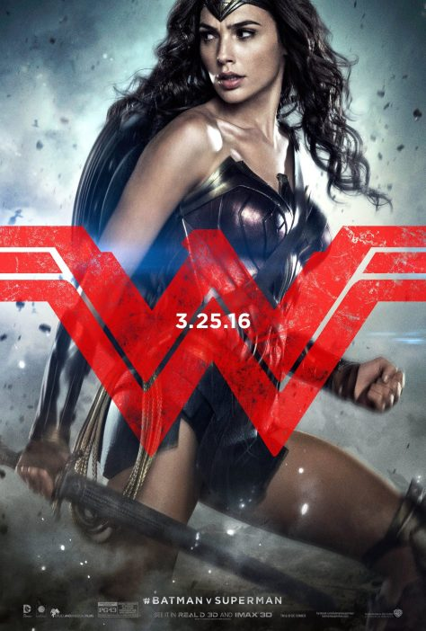 BvS Posters - Wonder Woman