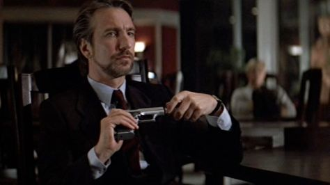 Christmas Curmudgeons - Hans Gruber
