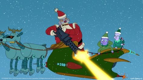 Christmas Curmudgeons - Robot Santa