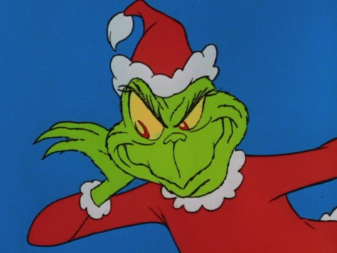 Christmas Curmudgeons - The Grinch