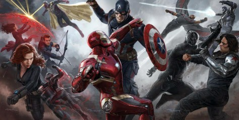 Civil War Textless Concept Art