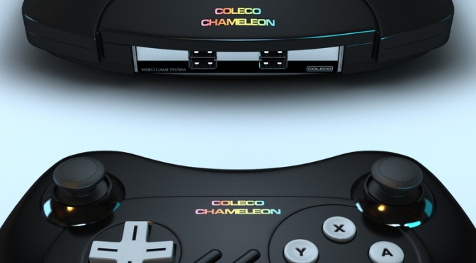 Coleco Chameleon: Classic Gaming Company Coleco Making Retro Based Cartridge Console