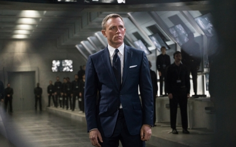 FILM TITLE: SPECTRE 2015 JAMES BOND FILM HANDOUT ... Bond (Daniel Craig) is confronted by Franz Oberhauser's guards in the control room in Metro-Goldwyn-Mayer Pictures/Columbia Pictures/EON Productions' action adventure SPECTRE.