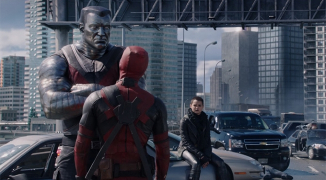 Merry Bleeping Christmas from Deadpool: New Red Band Trailer
