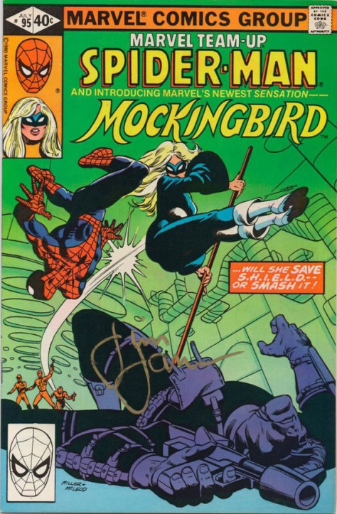 marvel teamup - Mockingbird and Spider Man