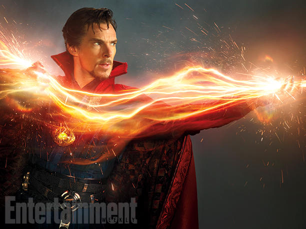 First Look at Benedict Cumberbatch as Doctor Strange!
