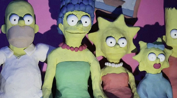 Lee Hardcastle Creates Most Disturbing Simpsons Couch Gag Ever!